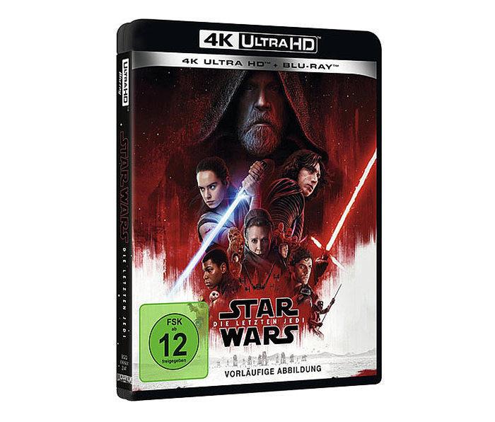 «Звездные войны: Последние джедаи» станет первым фильмом киновселенной в формате UHD Blu-ray