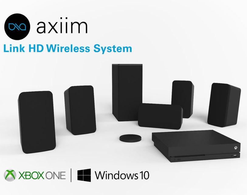 Axiim Link HD: беспроводная передача многоканального аудио для Xbox One и Windows 10