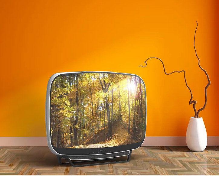Дизайн-студия PDF Haus представила концепт современного ретрофутуристичного телевизора