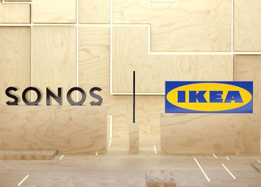 Sonos и Ikea объявили о партнерстве