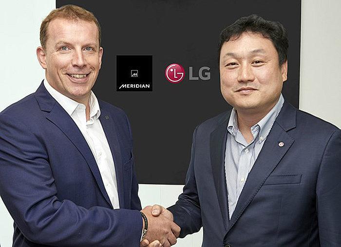 LG заключила партнерство с Meridian Audio