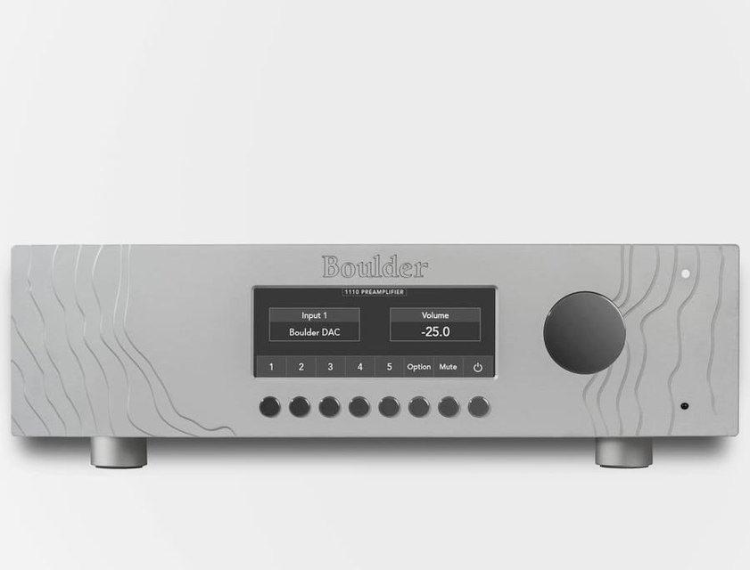 Boulder Amplifiers начала продажи предусилителя 1110