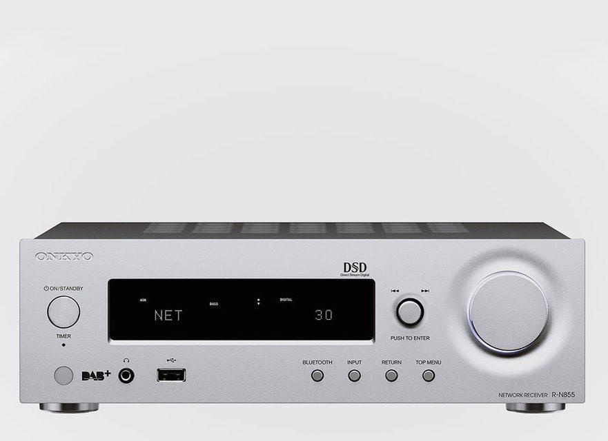 Сетевой стереоресивер Onkyo R-N855 поддерживает Google Cast, AirPlay и Bluetooth