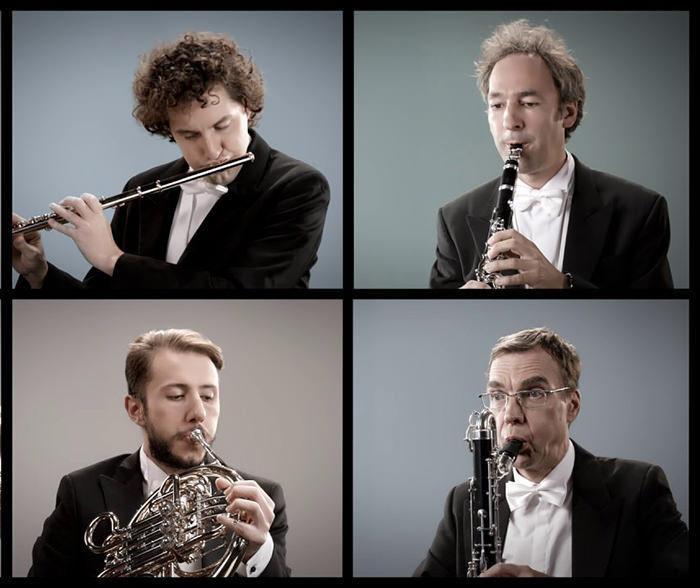 Оркестр воссоздал звуки Берлина на классических музыкальных инструментах