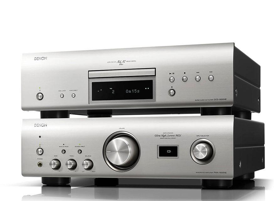 Denon выпустила CD-плеер DCD-1600NE с поддержкой SACD и DSD