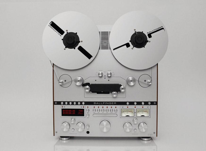 Ballfinger выпустила современный катушечный магнитофон M 063