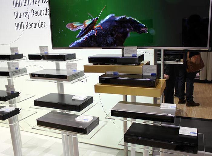 Panasonic анонсировала UHD Blu-ray рекордеры для кабельного и спутникового телевидения