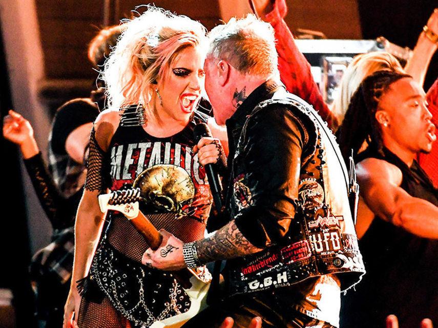 Metallica намерена продолжить сотрудничество сЛеди Гагой