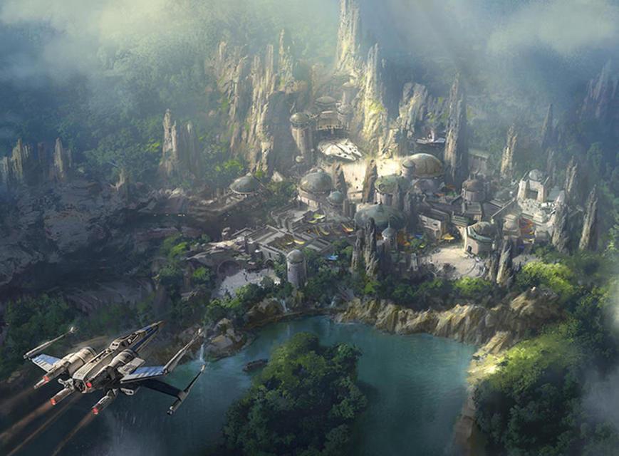 Disney откроет парк по мотивам фильма «Аватар»