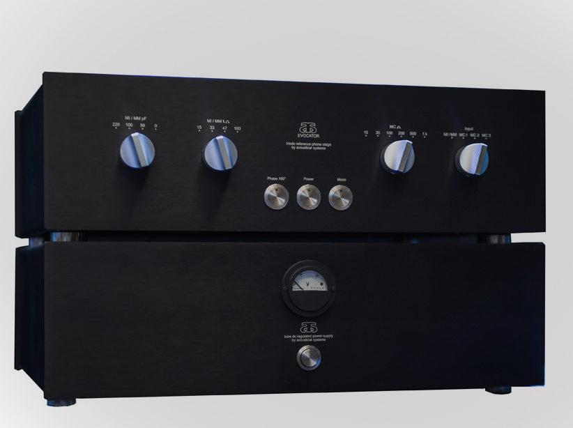 Acoustical Systems выпустила фонокорректор EVOcator на триодах и 12-дюймовый тонарм Aquilar