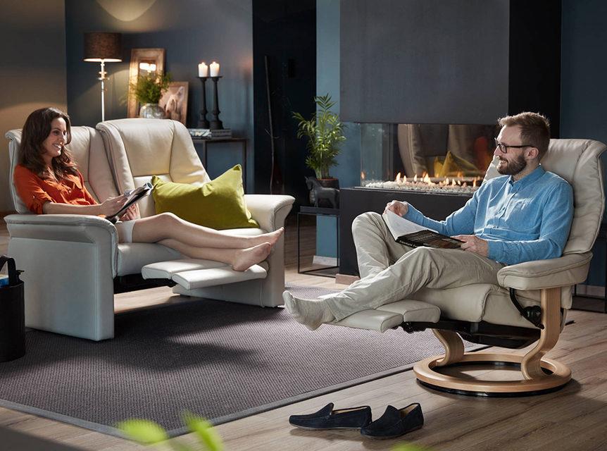 «Винил Джем 2017»: мебель Ekornes Stressless для максимального комфорта
