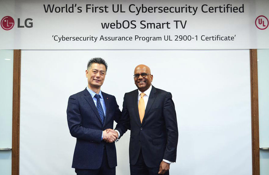Smart TV-платформа LG webOS 3.5 получила сертификат безопасности от UL