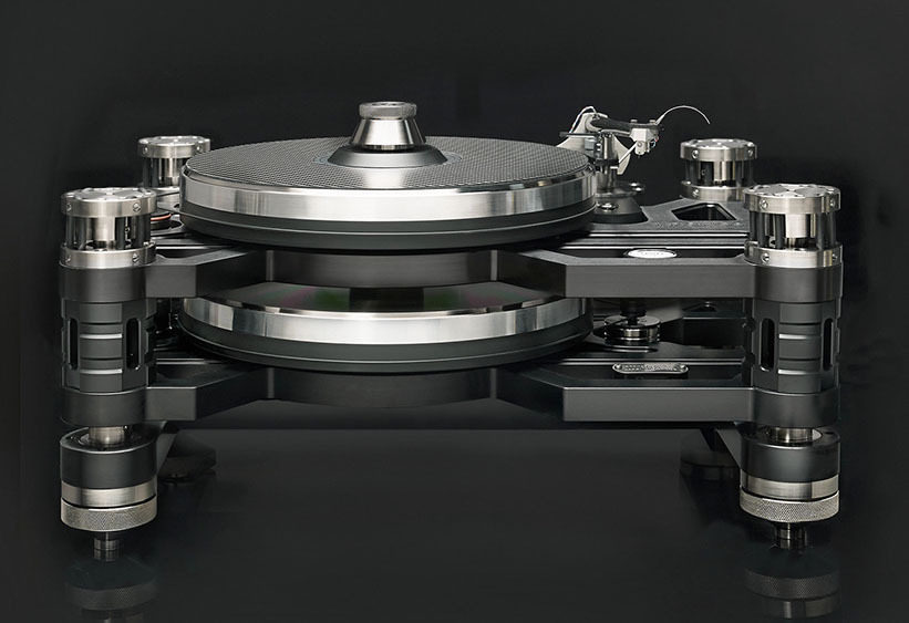 «Винил Джем 2017»: вертушка Kronos Audio с двумя дисками встречного вращения и акустика Manger Audio