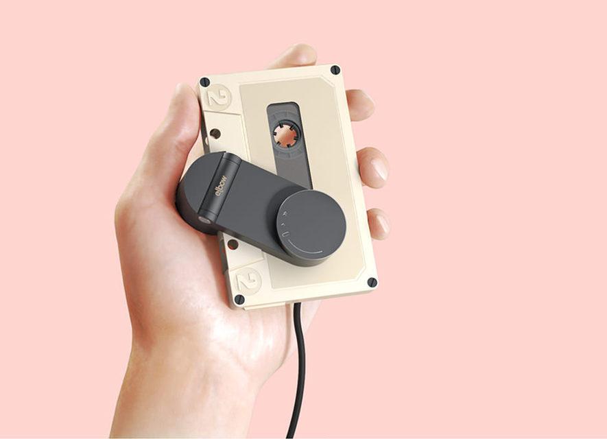 Концепт: портативный кассетный плеер Elbow