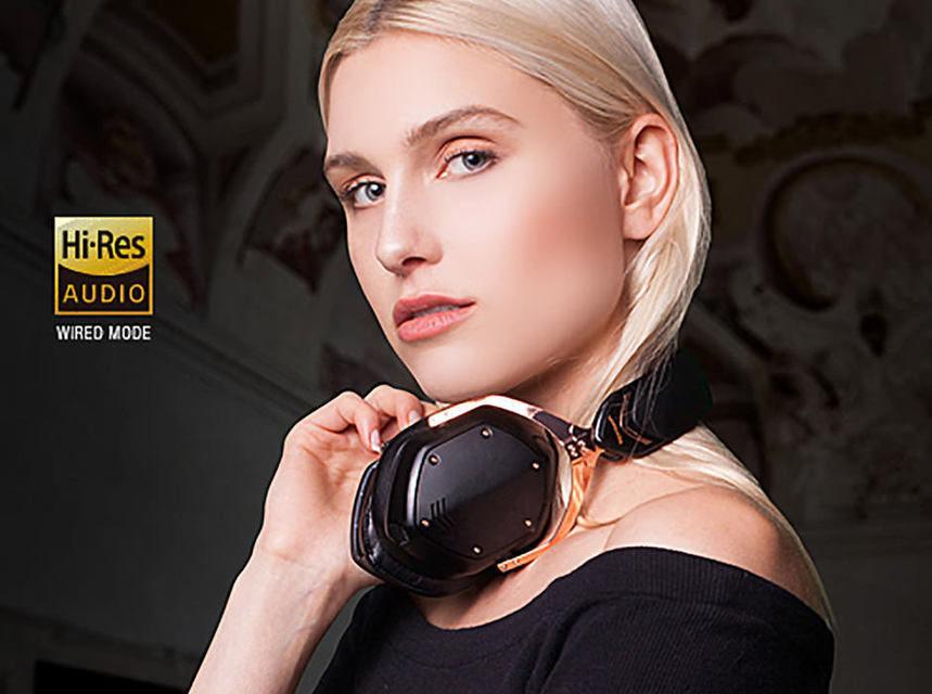 V-Moda выпустила беспроводные наушники Crossfade 2 с сертификацией Hi-Res Audio