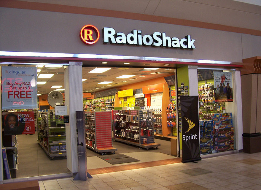 Американская сеть магазинов RadioShack объявила о банкротстве