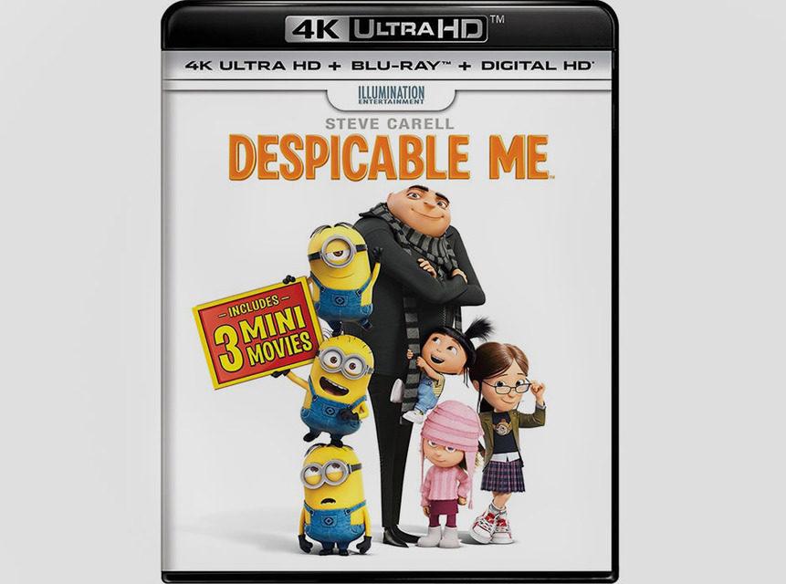 Первыми фильмами UHD Blu-Ray в формате Dolby Vision станут «Гадкий Я» и «Гадкий Я 2»