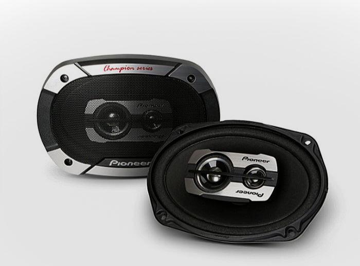 Pioneer пополнила серию автомобильной акустики Champion моделями TS-6975V3 и TS-1675V2