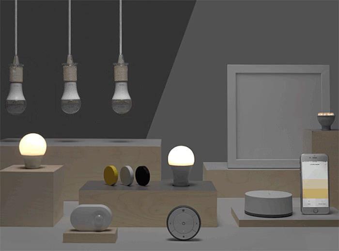 IKEA запустила собственную систему автоматизации освещения Trådfri