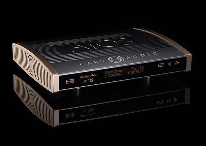 Аудиосистема Cary Audio AiOS получила сертификат MQA