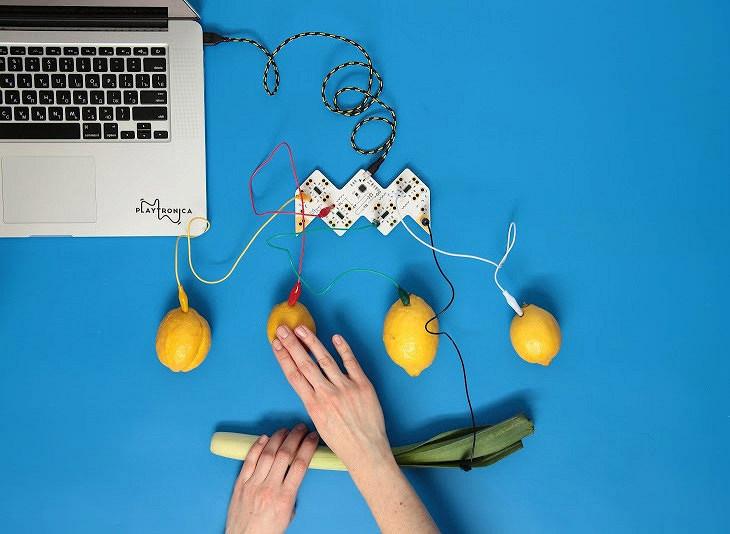 В продаже появился музыкальный инструмент, для игры на котором используются фрукты иовощи