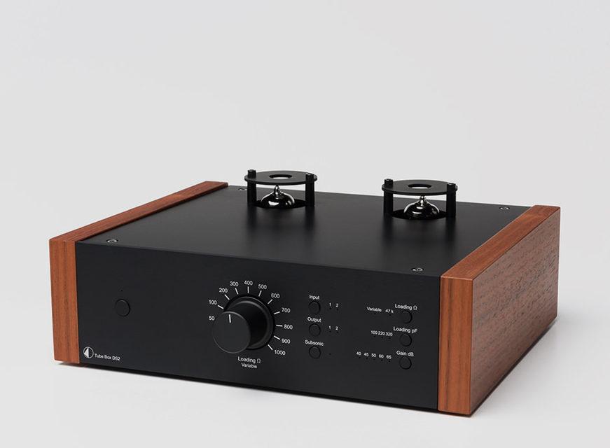 Pro-Ject выпустила ламповый фонокорректор Tube Box DS2