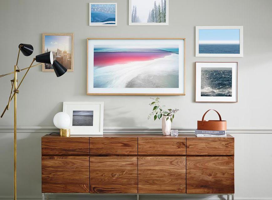 Samsung выпустила дизайнерский телевизор The Frame