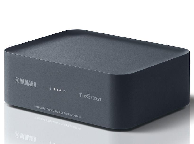 Yamaha анонсировала сетевой стример/мультирумный адаптер WXAD-10