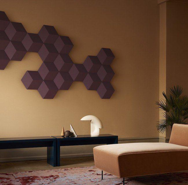 Bang & Olufsern выпустила необычную шестиугольную акустику BeoSound Shape для настенного крепления