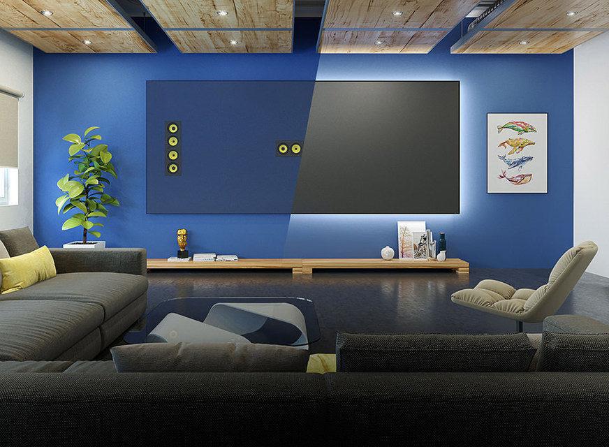 Screen Innovations выпустила звукопроницаемые проекционные экраны Slate AT и Pure AT