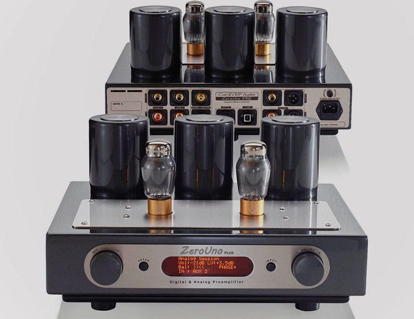 Компания СanEver Audio представила ламповый предусилитель-ЦАП ZeroUno Plus