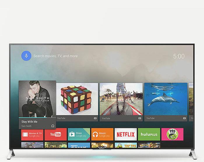 Sony продолжит обновлять европейские телевизоры до Android 6.0