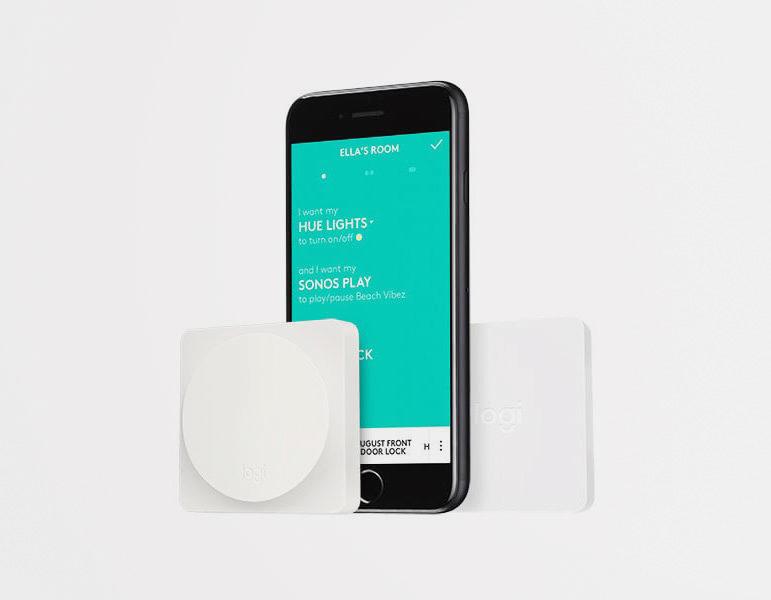 Кнопки Logitech Pop получили поддержку умной платформы Apple HomeKit