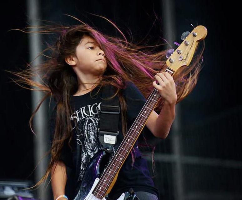 12-летнийсын Роберта Трухильо дебютировал всоставе «Korn»