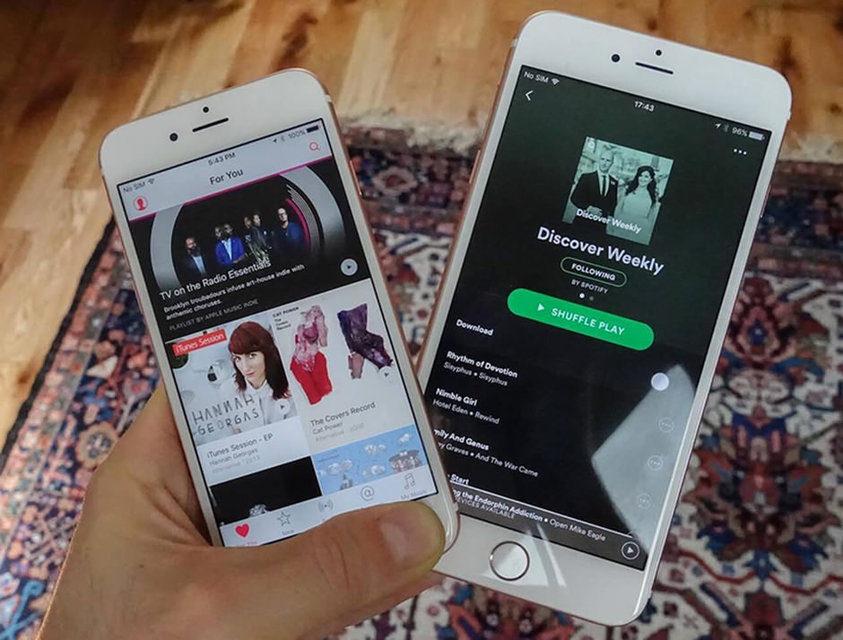 В США доходы стриминговых сервисов впервые превысили прибыль от продаж музыки альбомами и треками