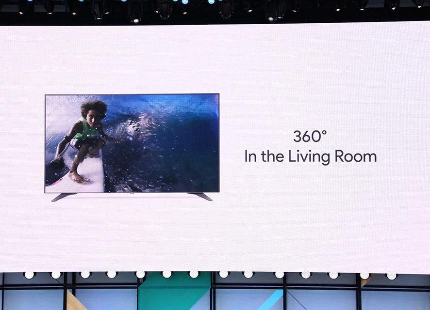 Youtube добавила поддержку 360-градусного видео для телевизоров