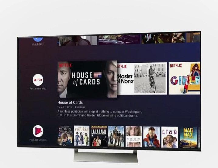 В Android TV обновится интерфейс и появится Google Assistant