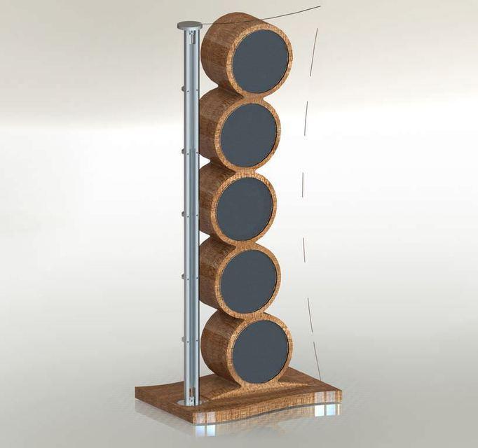 SoulSonic представила флагманские колонки Hologramm-X стоимостью от 150 тысяч евро