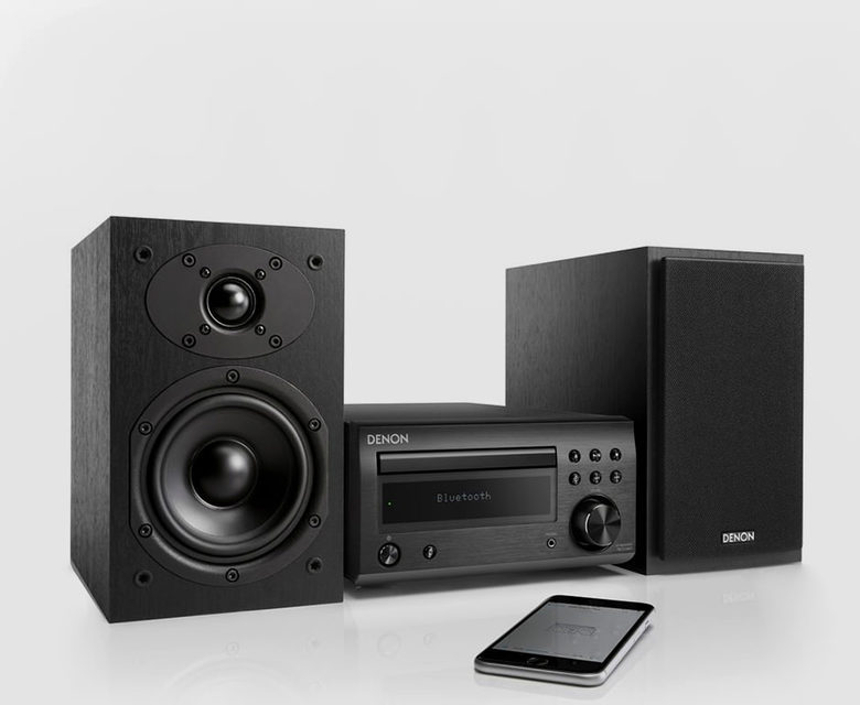 Denon добавила Bluetooth-ресивер в минисистему серии M