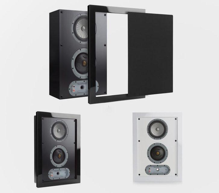 Monitor Audio SoundFrame: встраиваемая и настенная акустика с картинами на грилях