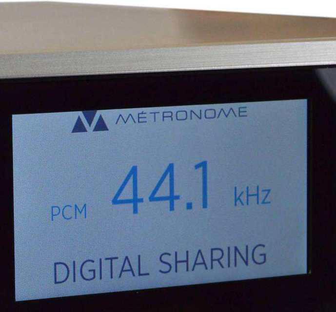 Metronome показала музыкальный ЦАП-стример 32 бит/768 кГц DSC1