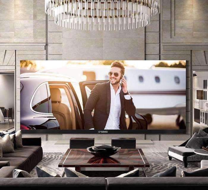 C SEED 262: домашний телевизор с 6,65-метровой диагональю