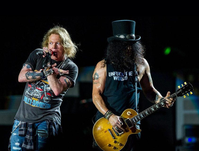 Guns N' Roses планируют выпустить новый альбом