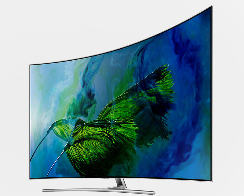 В России стартовали продажи QLED-телевизоров Samsung Q7F, Q8C и Q9C
