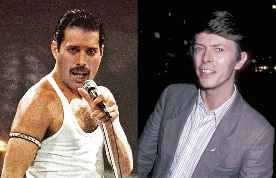 Брайан Мэй рассказал онеизданных треках, записанных Queen совместно сДэвидом Боуи