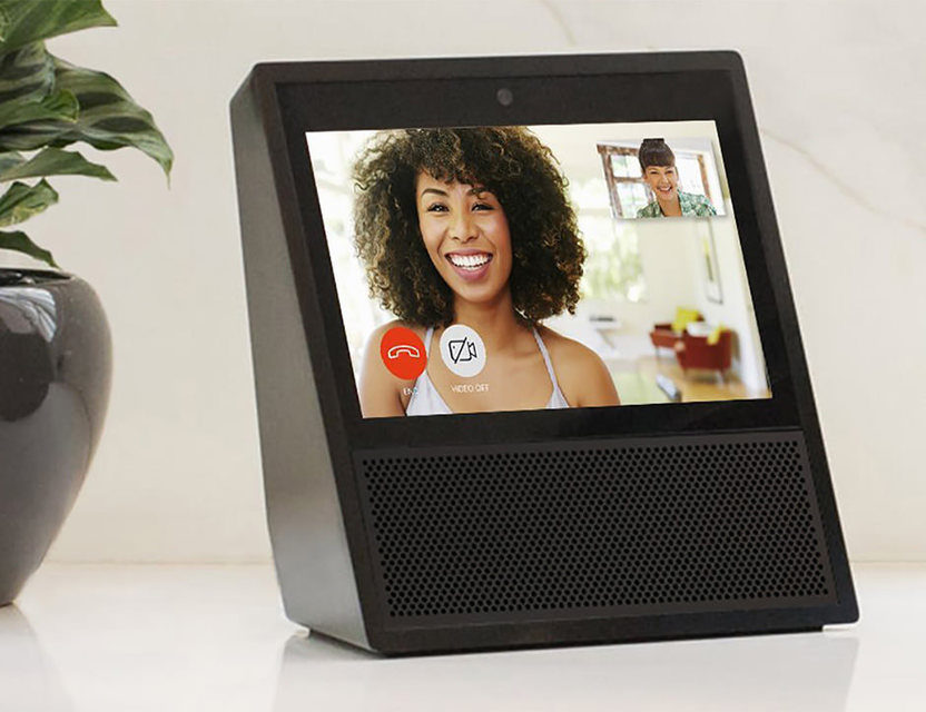 Amazon начала масштабное продвижение смарт-колонки с дисплеем Echo Show