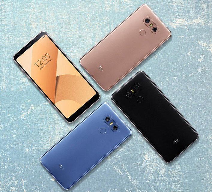 LG пополнила серию смартфонов G6 моделью G6 Plus