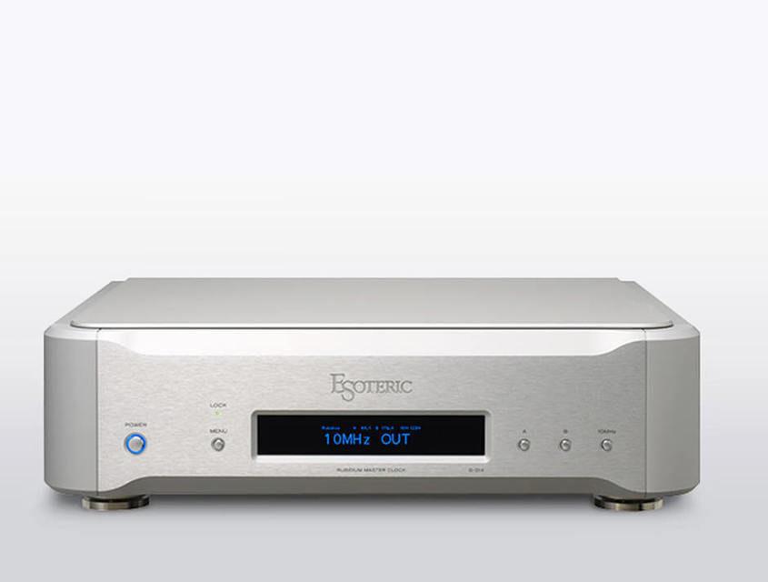 Esoteric выпустила генератор тактовых импульсов G-01X