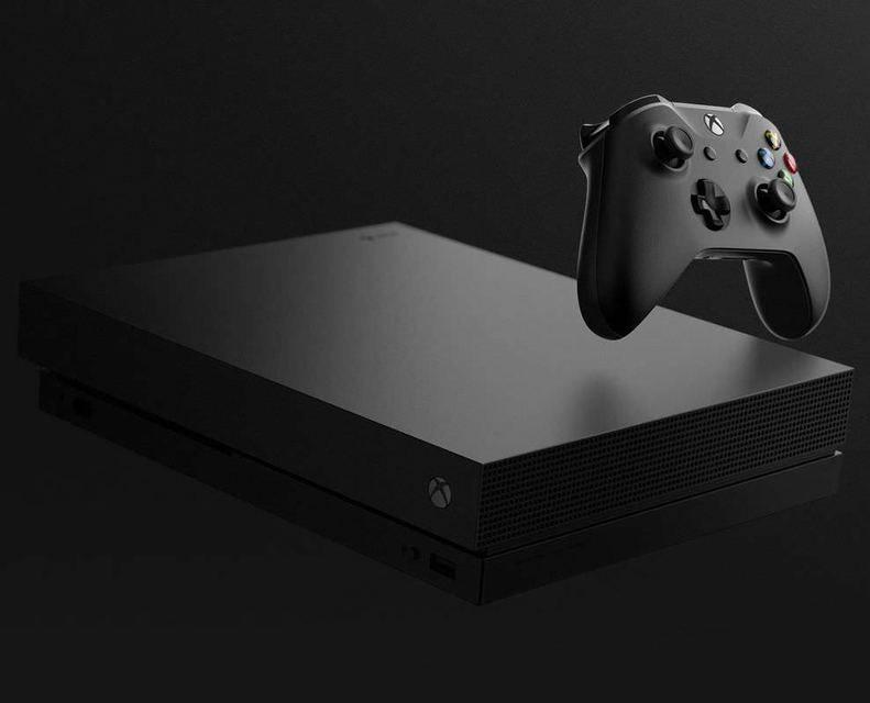 Microsoft официально представила новую игровую консоль Xbox One X
