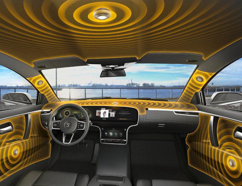 Continental представила автомобильную аудиосистему без динамиков